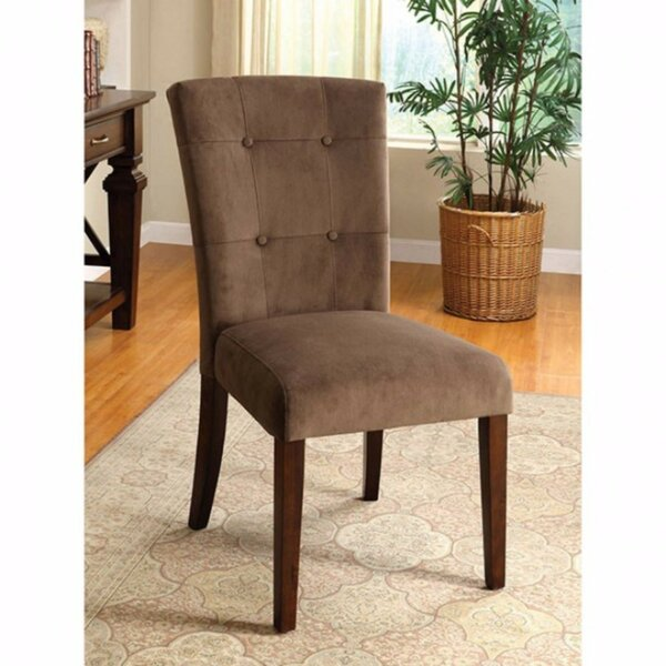 Zaria Upholstered Dining Chair (Set of 2) by Gracie Oaks