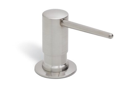 Shrouded Soap/Lotion Dispenser with Reach and One Touch System by Rohl