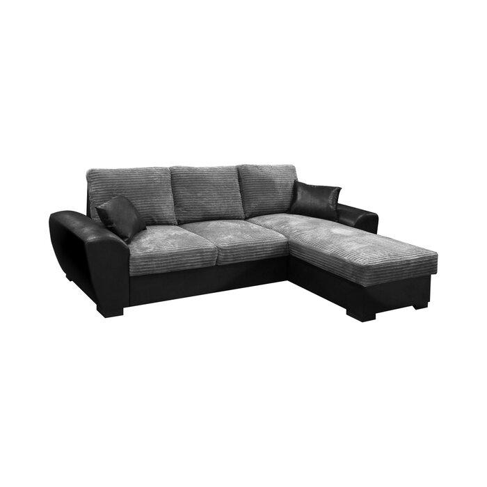 Gianni Reversible Sleeper Corner Sofa Bed