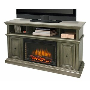 McCrea Media 58″ TV Stand with Fireplace