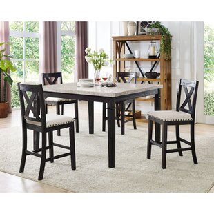 Hager 5 Piece Dining Set By Alcott Hill