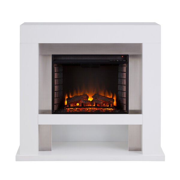 Lirrington Stainless Steel Fireplace By Ebern Designs