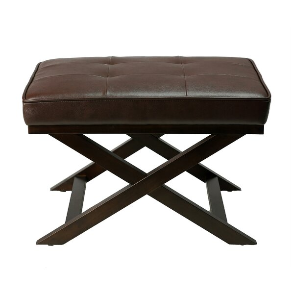 Mccusker Tufted Ottoman By Charlton Home