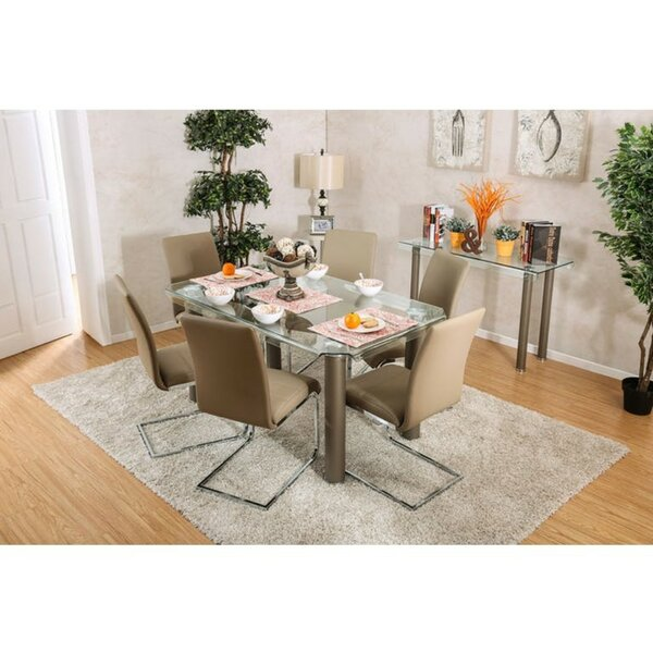 Belchertown Contemporary 7 Piece Dining Set by Orren Ellis