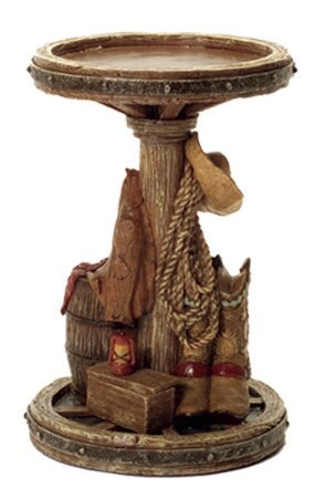 Wood Candlestick by Acadian Candle