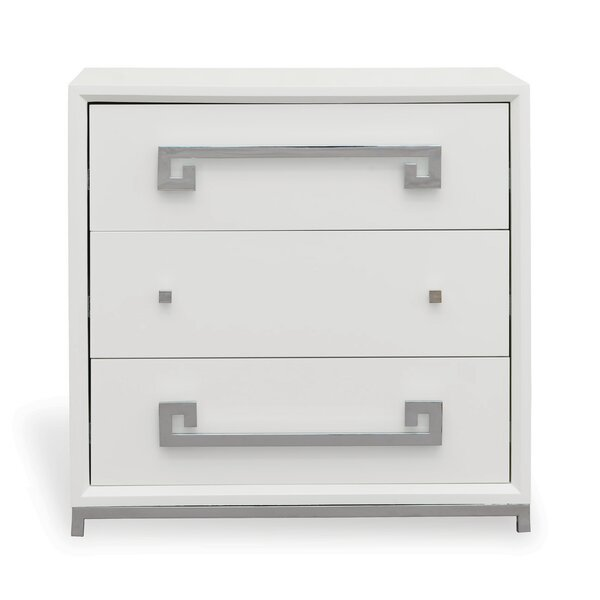 Hancock 3 Drawer Chest by Port 68