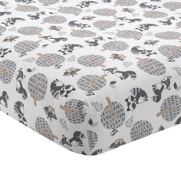 Little Rascals Bedtime Originals Forest Animals Fitted Crib Sheet by Lambs & Ivy Signature