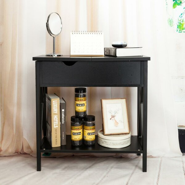 Siglinde End Table With Storage By Ebern Designs