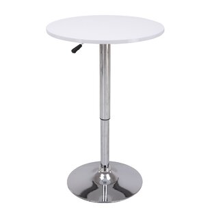 Height Adjustable Pub Table By Vogue Furniture Direct