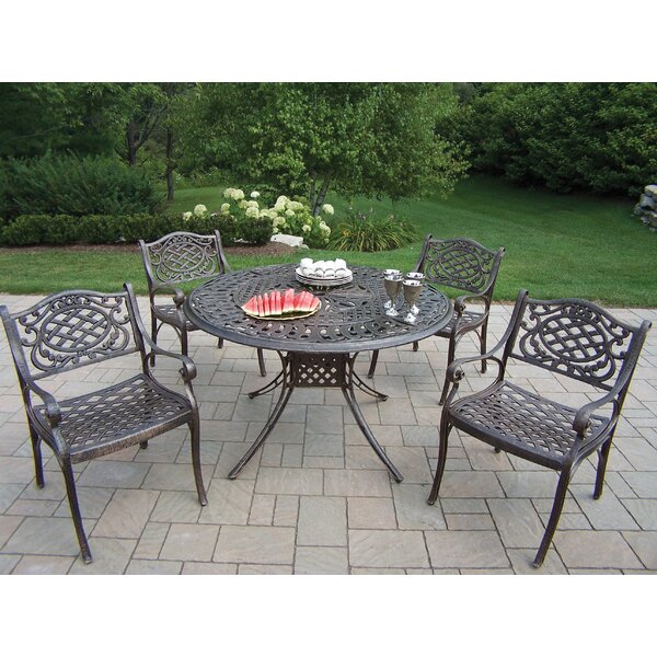 Capitol Mississippi 5 Piece Dining Set by Oakland Living
