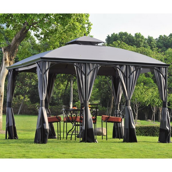 Replacement Curtain for Somer Gazebo by Sunjoy
