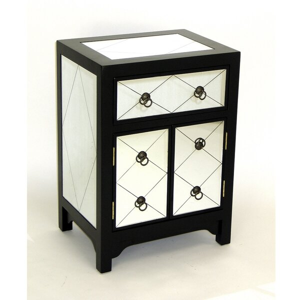 Hannes 1 Drawer Cabinet by House of Hampton House of Hampton