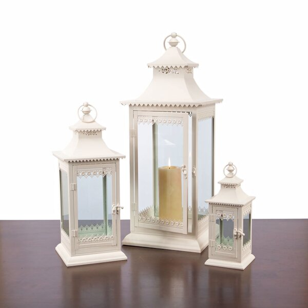 3 Piece Metal Lantern Set (Set Of 3) By House Of Hampton