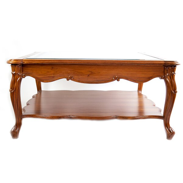 Coffee Table With Storage By The Silver Teak
