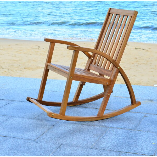 Bross Rocking Chair by Loon Peak