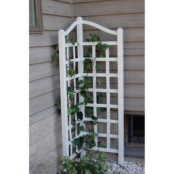 Oxford Vinyl Lattice Panel Trellis by Dura-Trel