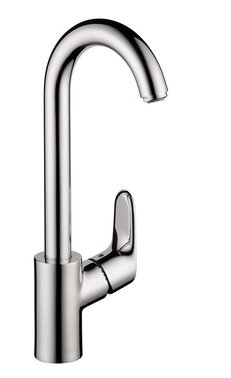 Focus Single Handle Kitchen Faucet by Hansgrohe