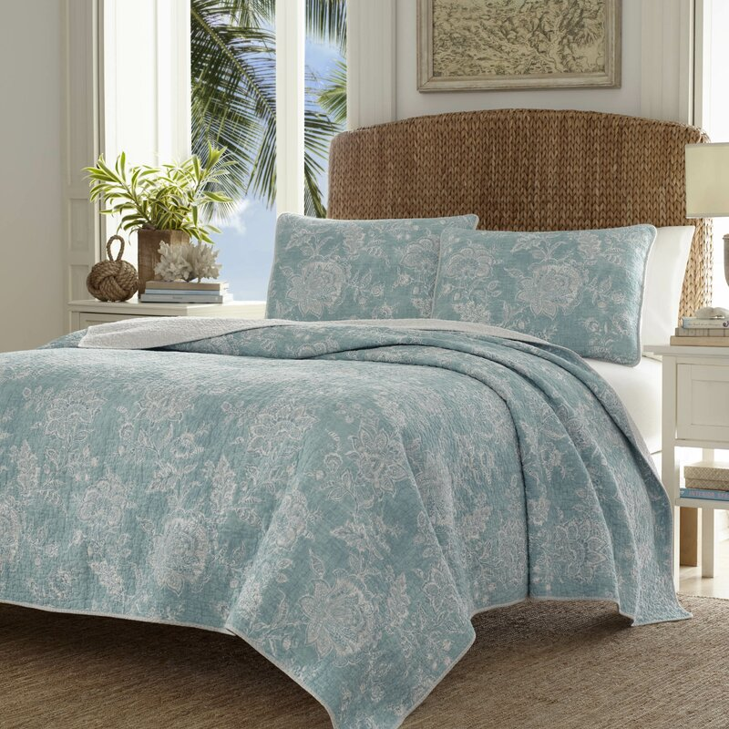 Tommy Bahama Bedding Tidewater Jacobean Quilt Set by Tommy Bahama ... : jacobean quilt - Adamdwight.com