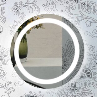 Top Reviews Illuminated Bathroom/Vanity Mirror By Glimmer by Nameeks