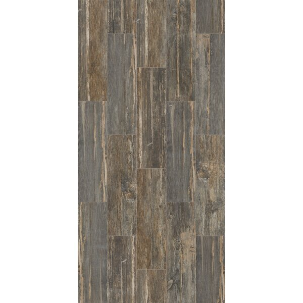 Tampico 7 x 24 Ceramic Tile in Gray by Welles Hardwood
