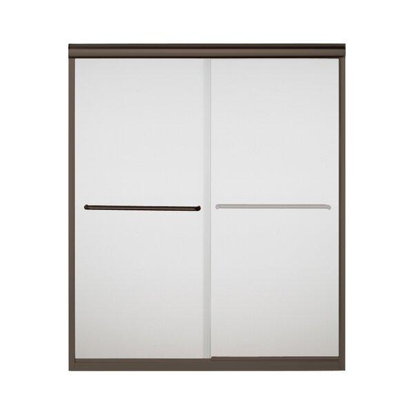 Finesse 59.62'' x 70.063'' Bypass Frameless Shower Door by Sterling by Kohler