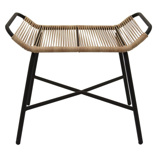 Troxel Metal and Plastic Accent Stool by Wrought Studio