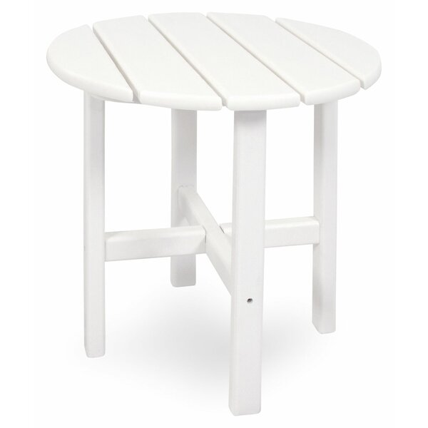 Plastic/Resin Side Table by Ivy Terrace