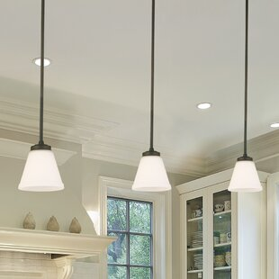 Best Reviews Cintron 1-Light Cone Pendant By Red Barrel Studio