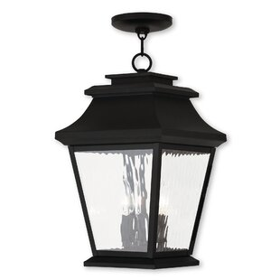 Campfield 3-Light Outdoor Hanging Lantern By Darby Home Co
