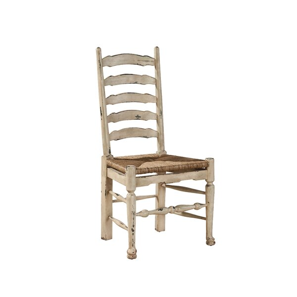 Painted English Country Solid Wood Dining Chair (Set of 2) by Furniture Classics