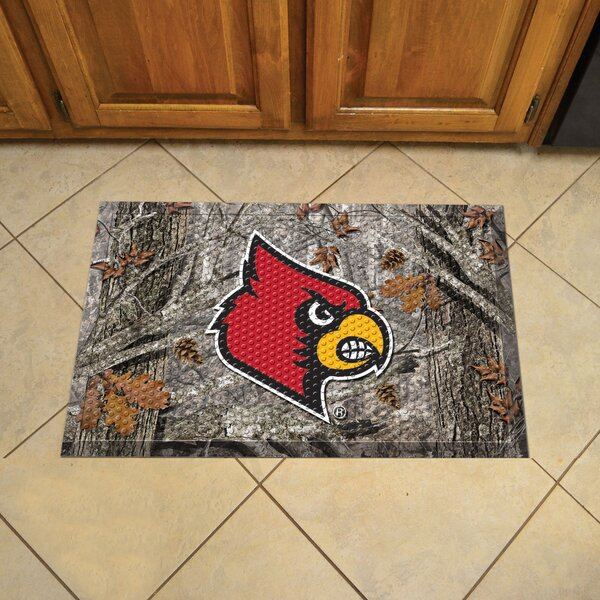 University of Louisville Doormat by FANMATS