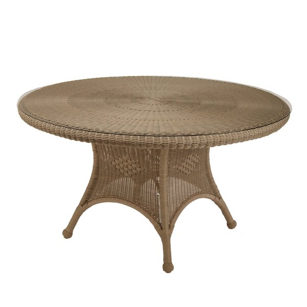 Wicker Dining Table by Summer Classics