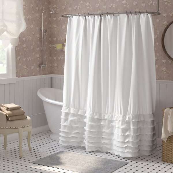Lafleur Shower Curtain by Lark Manor