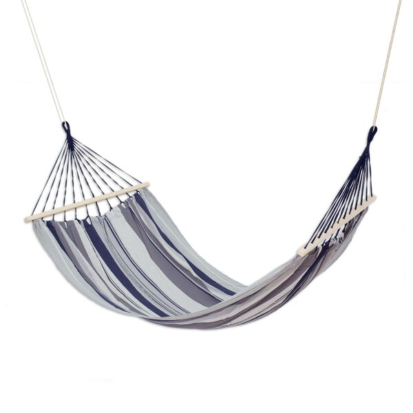 Wafer Mountain Breeze Cotton Tree Hammock by Breakwater Bay