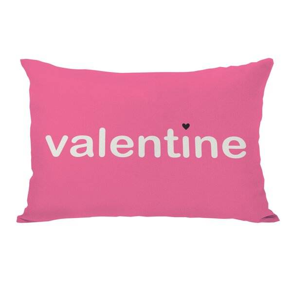 Be Mine/Valentine Reversible Lumbar Pillow by One Bella Casa