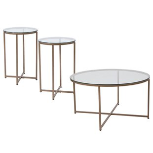 Gaener 3 Piece Coffee Table Set Mercer41 Amazing