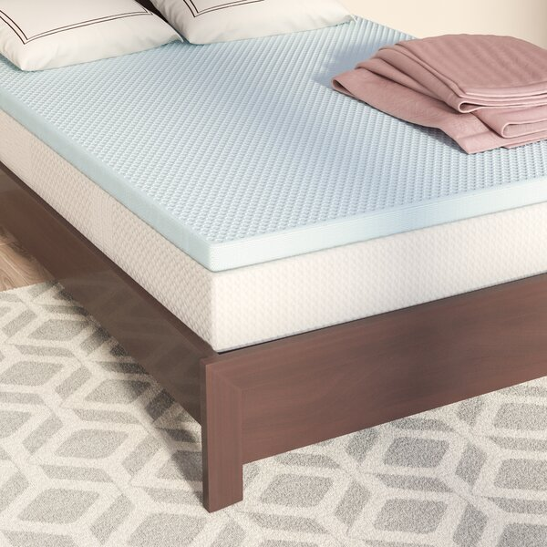 2 Gel Memory Foam Mattress Topper by Alwyn Home