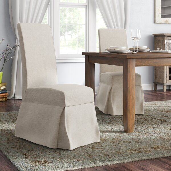 Sandown Wood Leg Side Chair (Set of 2) by Three Posts