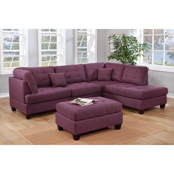 Tapscott Reversible Sectional with Ottoman by Winston Porter