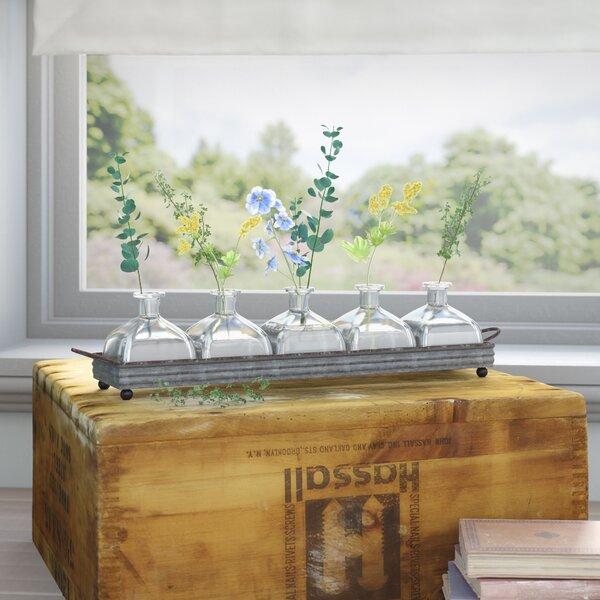 Rustic 5 Piece Table Vase Set by Birch Lane™