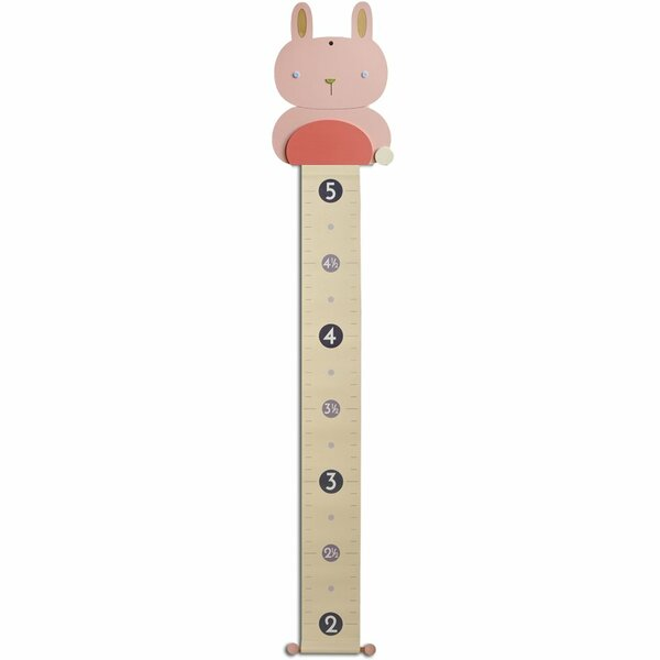 Breese Bunny Growth Chart by Harriet Bee