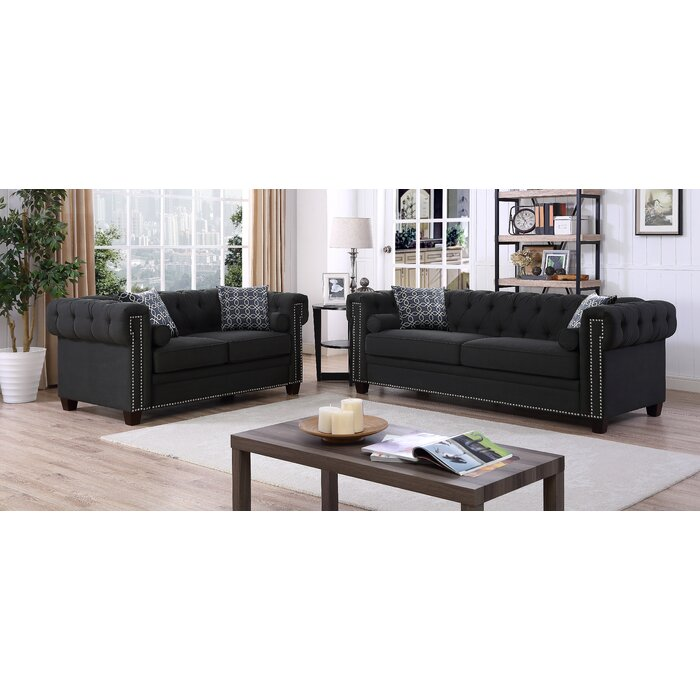 Magnificent Brockton 2 Piece Living Room Set Ncnpc Chair Design For Home Ncnpcorg