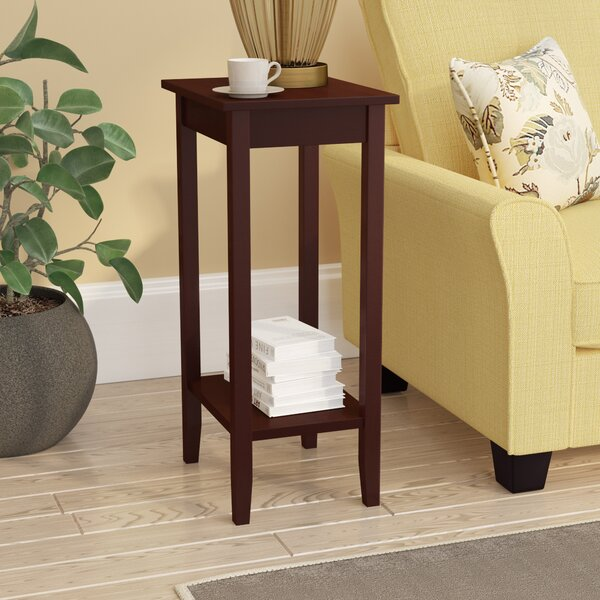 Noble Rosewood Tall End Table by Winston Porter