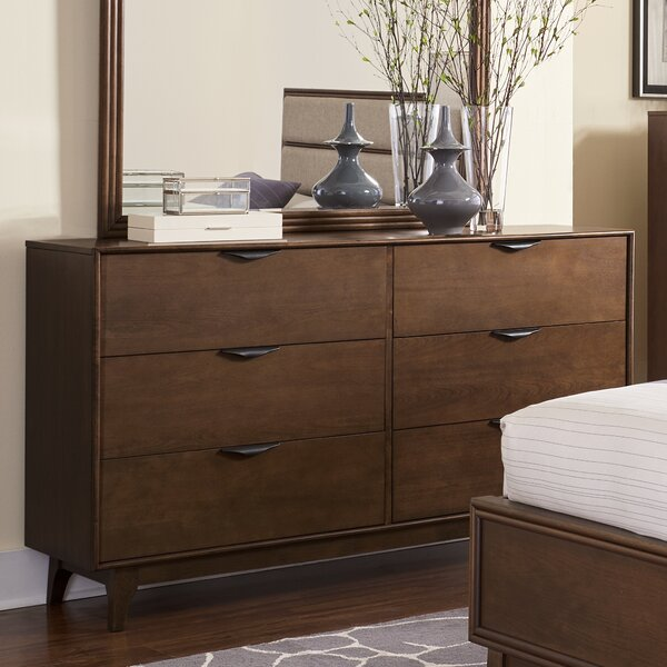 Theresa 6 Drawer Double Dresser by Langley Street