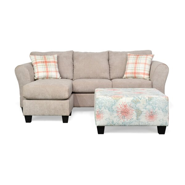 Cool Trendy Muir Right Hand Facing Sectional by Ebern Designs by Ebern Designs