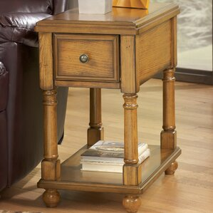 Katherine End Table With Storage by Al..