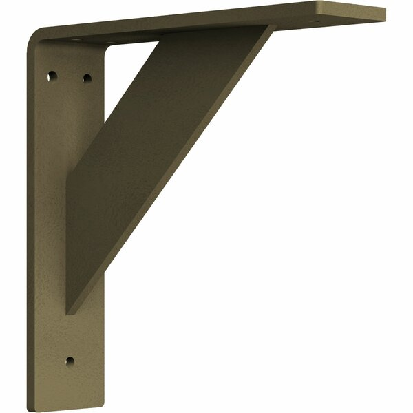 Traditional 8H x 2W x 8D Steel Bracket by Ekena Millwork