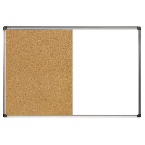 Maya Easy Clean and Cork Wall Mounted Combination Boards by Mastervision