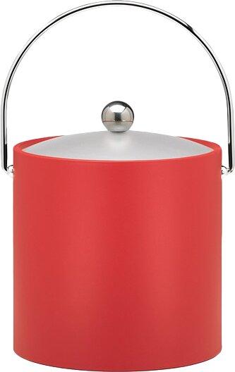 Binegar 3 Qt Ice Bucket in Red by Langley Street