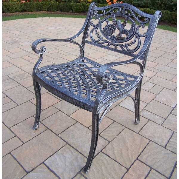 Wendling Patio Dining Chair by August Grove August Grove